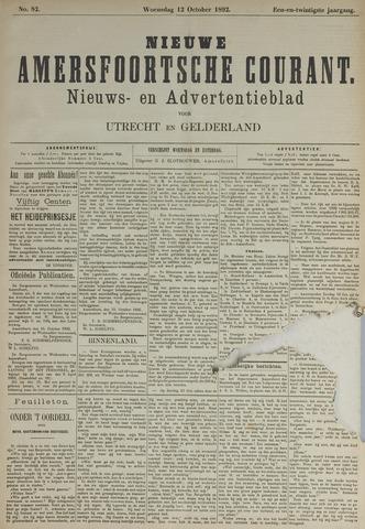 Nieuwe Amersfoortsche Courant 1892-10-12