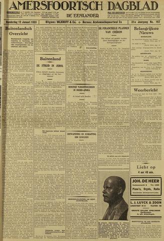 Amersfoortsch Dagblad / De Eemlander 1933-01-12