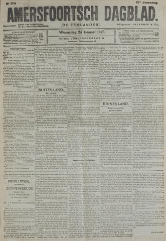 Amersfoortsch Dagblad / De Eemlander 1917-01-24