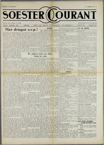 Soester Courant 1955-01-11