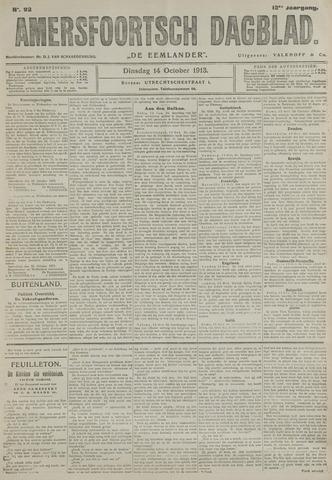 Amersfoortsch Dagblad / De Eemlander 1913-10-14