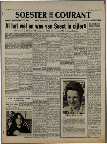 Soester Courant 1974-08-01