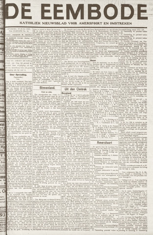De Eembode 1921-07-19