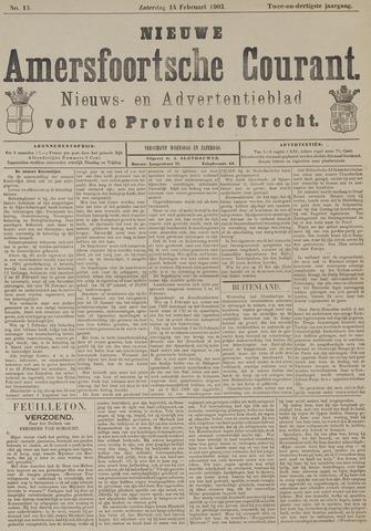 Nieuwe Amersfoortsche Courant 1903-02-14