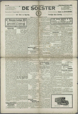 Soester Courant 1925-09-26