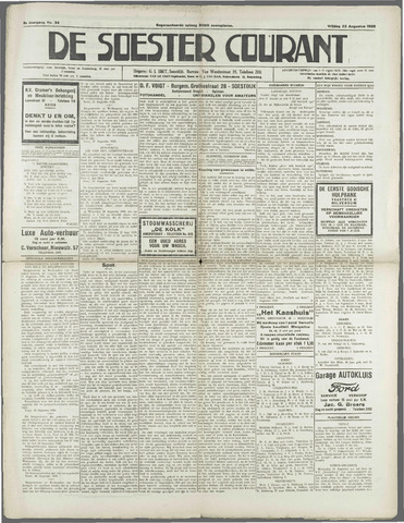Soester Courant 1929-08-23