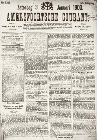Amersfoortsche Courant 1903