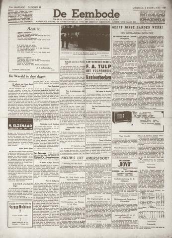 De Eembode 1938-02-04
