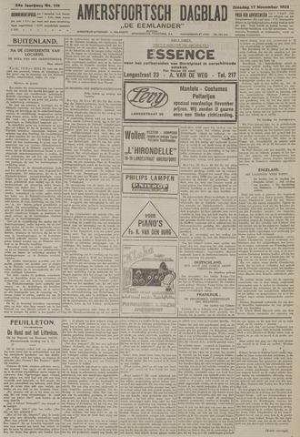 Amersfoortsch Dagblad / De Eemlander 1925-11-17