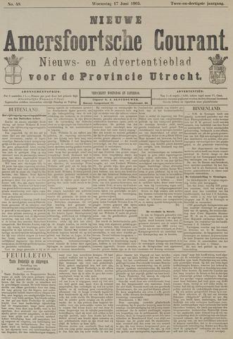 Nieuwe Amersfoortsche Courant 1903-06-17