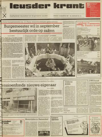 Leusder Krant 1987-08-18