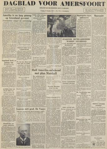Dagblad voor Amersfoort 1947-10-17