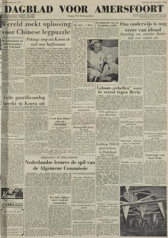 Dagblad voor Amersfoort 1950-11-18