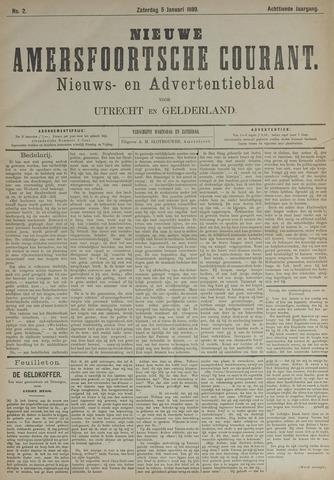 Nieuwe Amersfoortsche Courant 1889-01-05