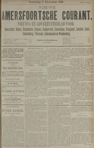 Nieuwe Amersfoortsche Courant 1881-11-09