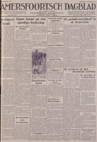 Amersfoortsch Dagblad / De Eemlander 1941-11-08
