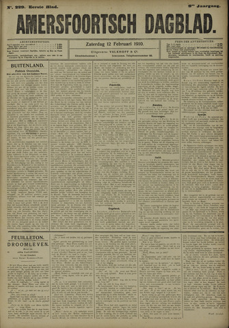 Amersfoortsch Dagblad 1910-02-12