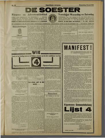 De Soester 1931-06-10