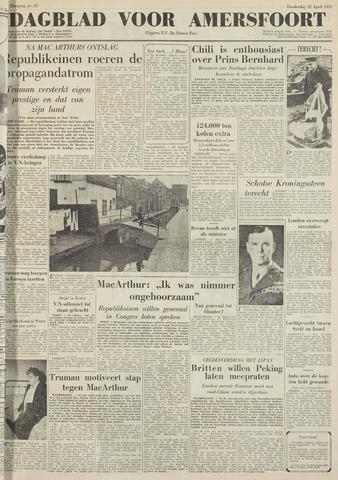 Dagblad voor Amersfoort 1951-04-12