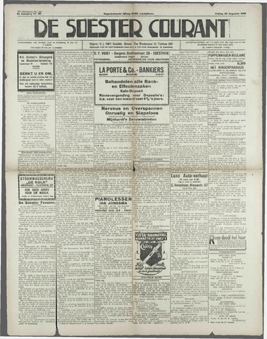 Soester Courant 1929-08-30