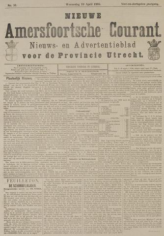 Nieuwe Amersfoortsche Courant 1905-04-19
