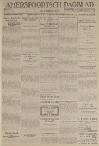 Amersfoortsch Dagblad / De Eemlander 1933-11-06