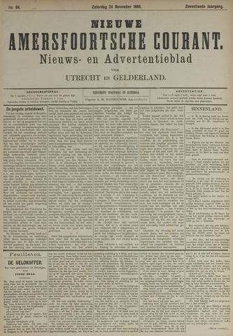 Nieuwe Amersfoortsche Courant 1888-11-24