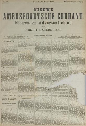 Nieuwe Amersfoortsche Courant 1892-10-19