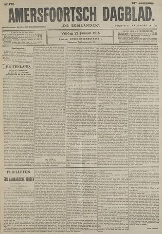 Amersfoortsch Dagblad / De Eemlander 1915-01-22