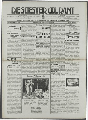 Soester Courant 1940-03-01