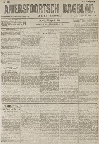 Amersfoortsch Dagblad / De Eemlander 1913-04-25