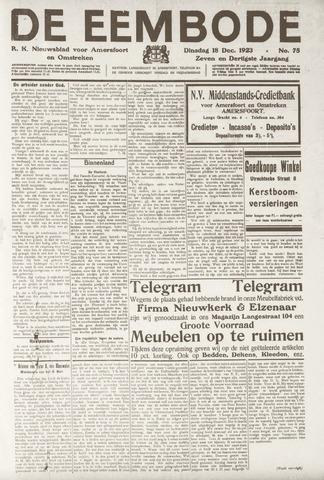De Eembode 1923-12-18