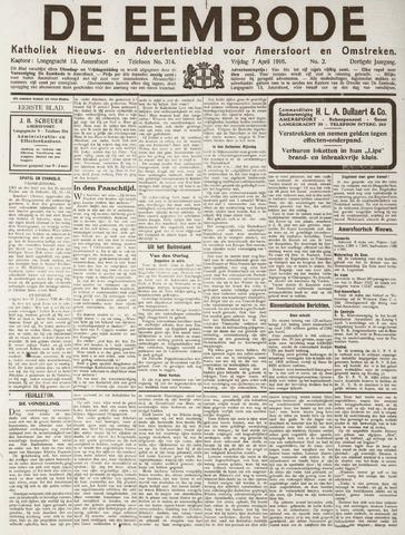 De Eembode 1916-04-07