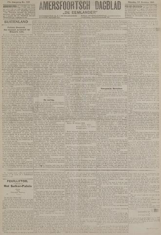 Amersfoortsch Dagblad / De Eemlander 1918-10-22