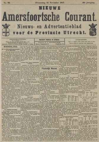 Nieuwe Amersfoortsche Courant 1917-11-21