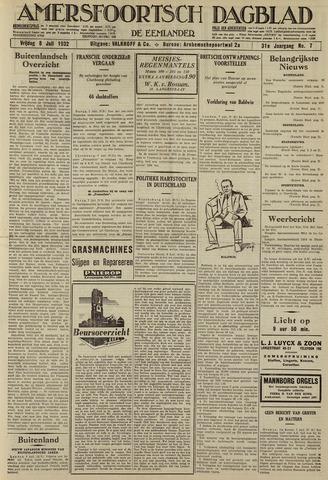 Amersfoortsch Dagblad / De Eemlander 1932-07-08