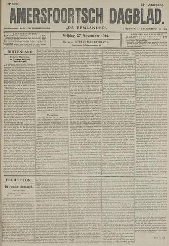 Amersfoortsch Dagblad / De Eemlander 1914-11-27