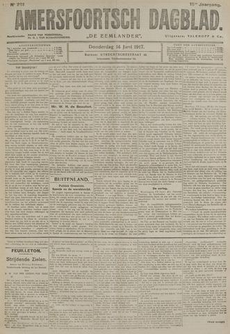 Amersfoortsch Dagblad / De Eemlander 1917-06-14