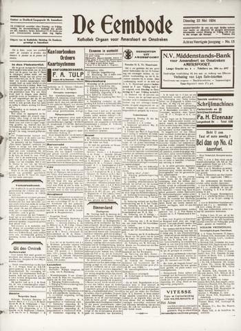 De Eembode 1934-05-22