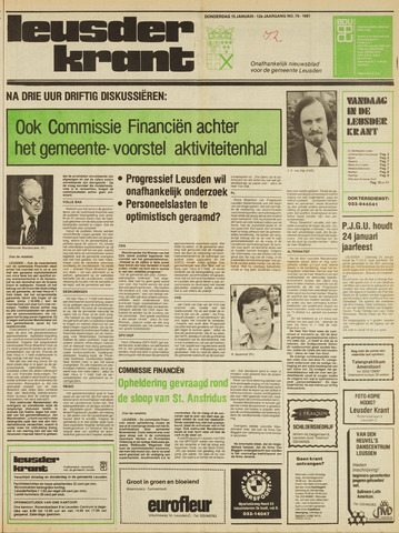 Leusder Krant 1981-01-15
