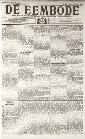 De Eembode 1913-09-12