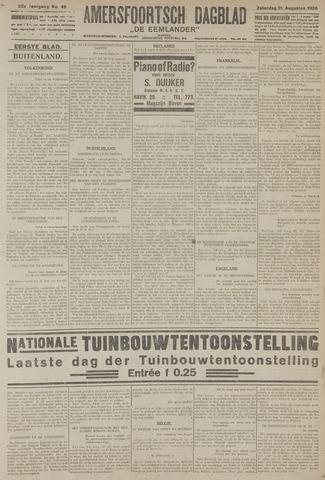 Amersfoortsch Dagblad / De Eemlander 1926-08-21