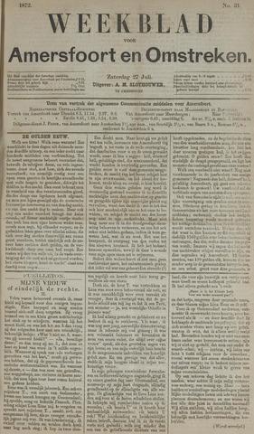 Weekblad voor Amersfoort en Omstreken 1872-07-27