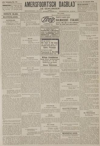 Amersfoortsch Dagblad / De Eemlander 1926-01-20