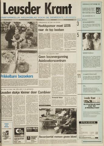 Leusder Krant 1992-09-09