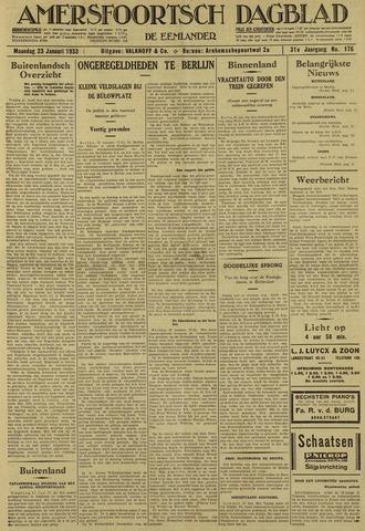 Amersfoortsch Dagblad / De Eemlander 1933-01-23