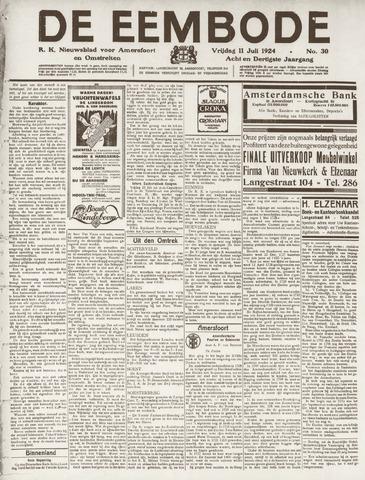 De Eembode 1924-07-11