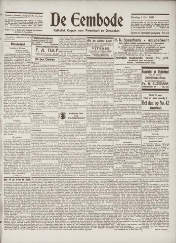 De Eembode 1933-10-03