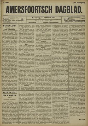 Amersfoortsch Dagblad 1905-02-22