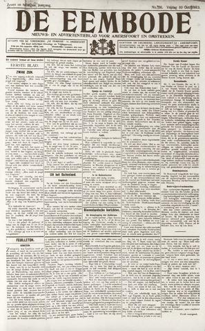 De Eembode 1913-10-10
